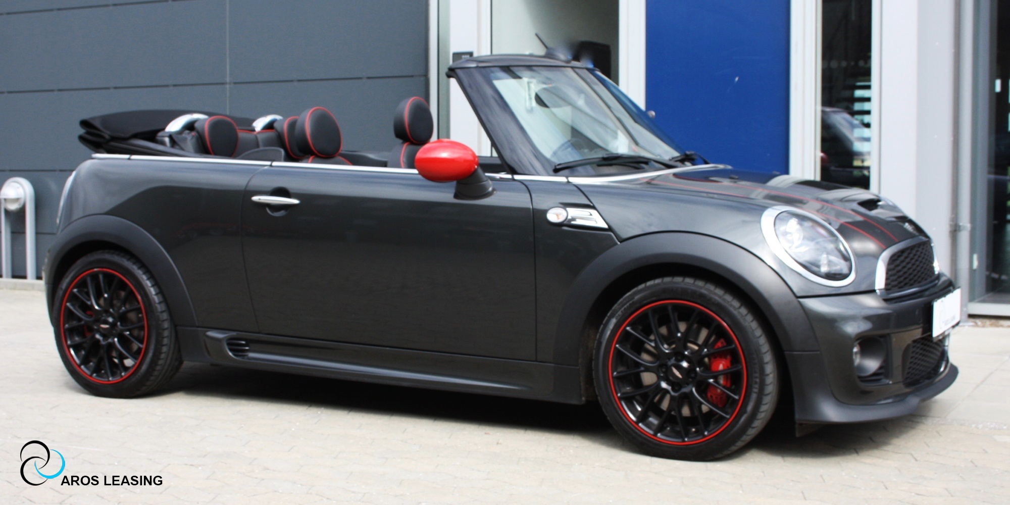 mini cooper s john cooper works cabriolet aros leasing. Black Bedroom Furniture Sets. Home Design Ideas